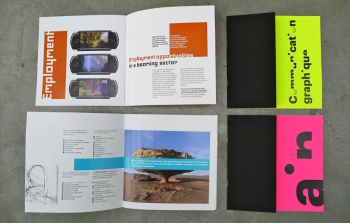 Brochure - brochure papier special pelliculage mat