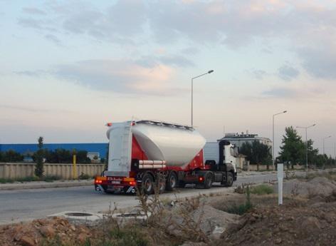 Dry Bulk Semitrailer - Dry Bulk Silo, Silo for Flour, Silo for Grain