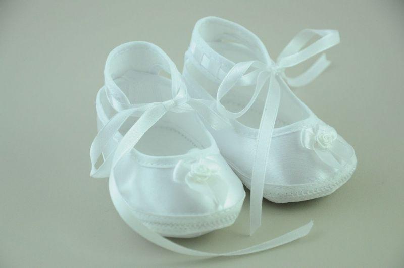 Buciki do chrztu dla niemowląt - Buciki dla niemowląt do chrztu i roczek