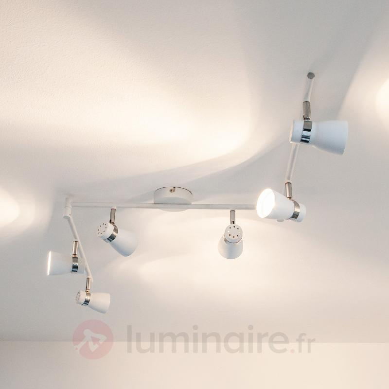 Plafonnier LED Arjen à 6 lampes - Spots et projecteurs LED