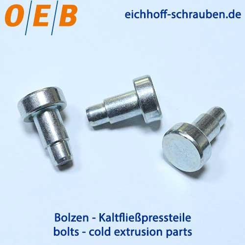Bolts - All standard bolts and bolts according to drawing from one supplier.