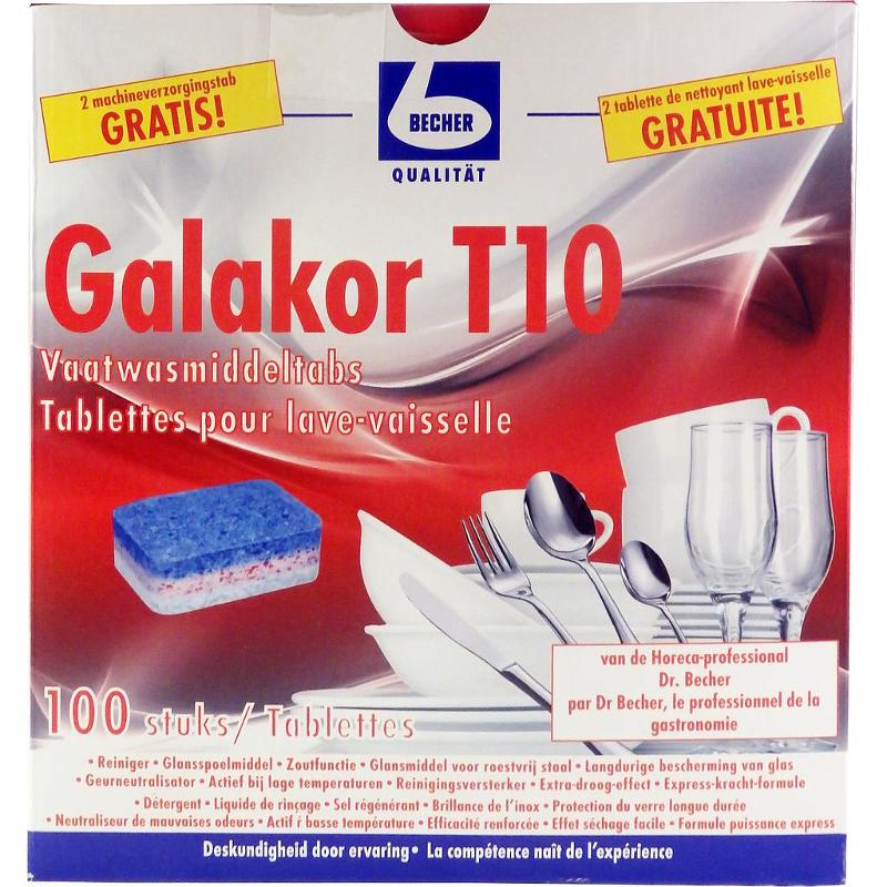 TABLETTES POUR LAVE-VAISSELLE GALAKOR - 100 TABLETTES/BOITE - Food