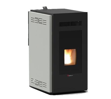 Mirina 30 Kw Hydro + 3 Kw Air Wood Pellet Stove - Indoor Wood Pellet Stove