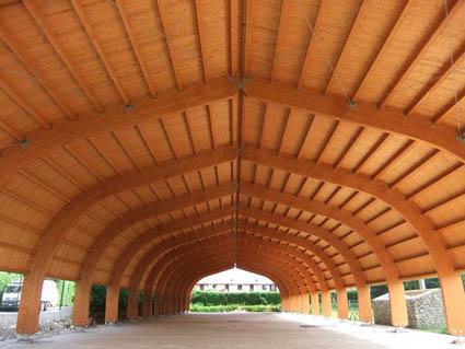 Strutture prefabbricate in legno