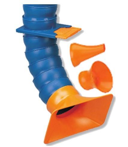 bras articulé - bras articulés pour aspiration de fumées de soudage, vapeurs de COV.