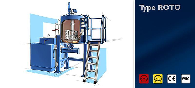 Distillation unit type ROTO - null