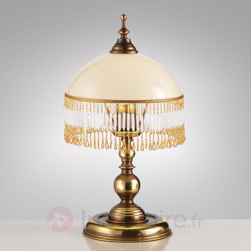 Corola - la lampe à poser à joli rideau - Lampes à poser classiques, antiques
