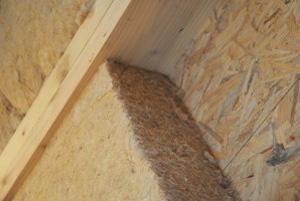 Isolant thermique naturel en fibres de bois