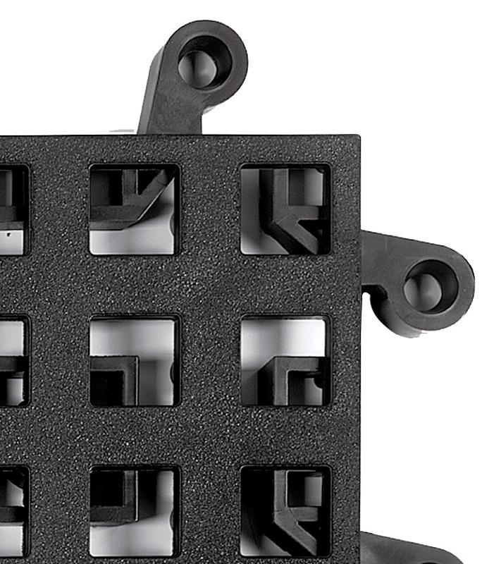 Dalles clipsables polypropylène et PVC - ERGODECK - système résistant et ergonomique