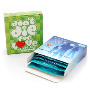 Pochettes personnalisées de préservatifs - 59quatro