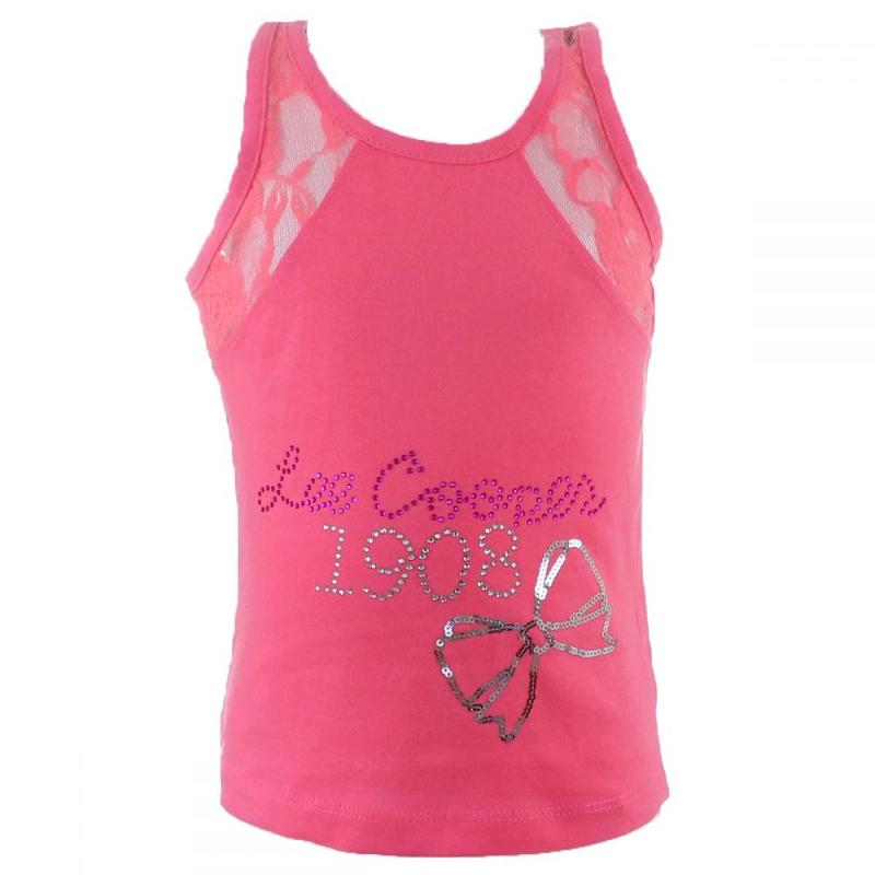 10x Débardeurs manches courtes Lee Cooper du 6 au 14 ans - T-shirt et polo manches courtes