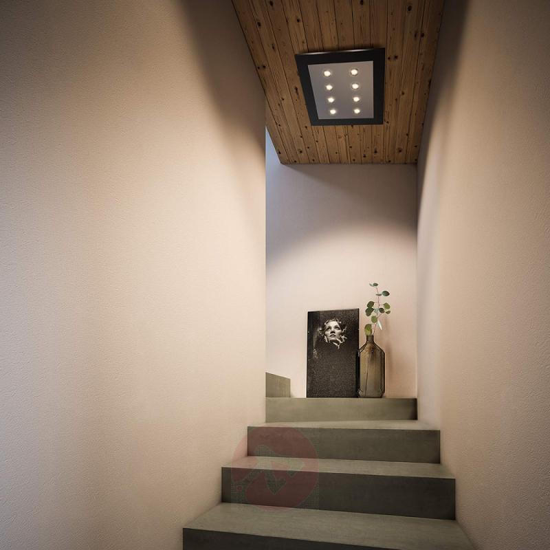 Matrix - powerful LED ceiling light, black - indoor-lighting