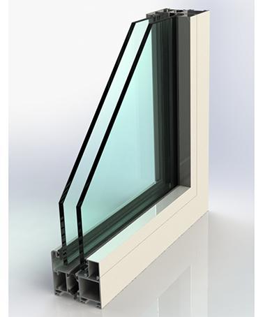 Portes-Fenêtres Accordéons - AIRCLOS S70R RPT