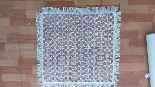 Nappe d'artisanat blanc style Moyen-Orient - K17767