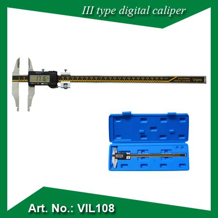 III Type digital caliper - MEASURING INSTRUMENTS
