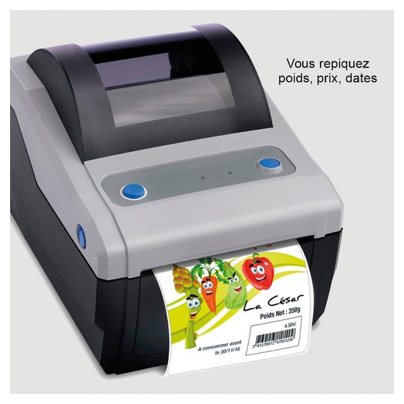Étiquettes thermique-direct - Étiquettes spéciales