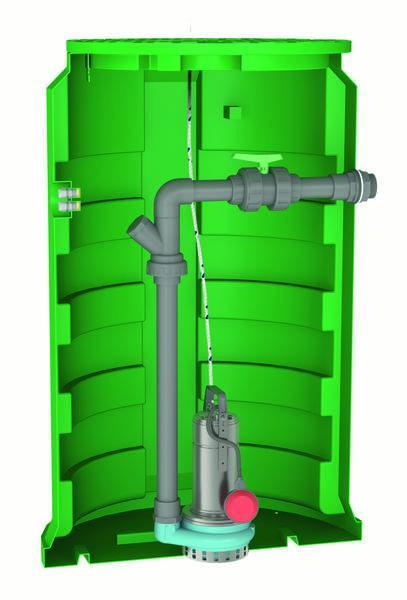 Postes de relevage eaux claires - CALIDOM GQRM