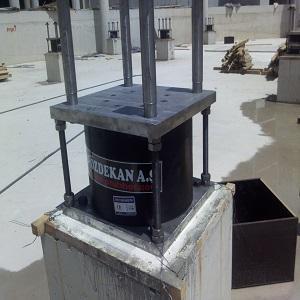 LRB (Lead Rubber Bearings) Isolator - Seismic LRB (Lead Rubber Bearings) Isolator