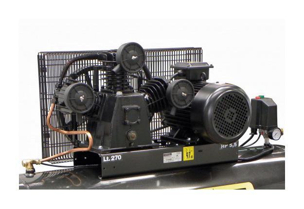 Compresseur à pistons, bi - étagés - DW FT5.5