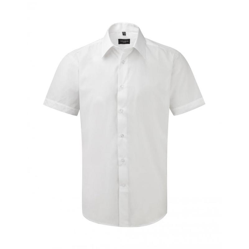 Chemise manches courtes homme S/SL Poplin