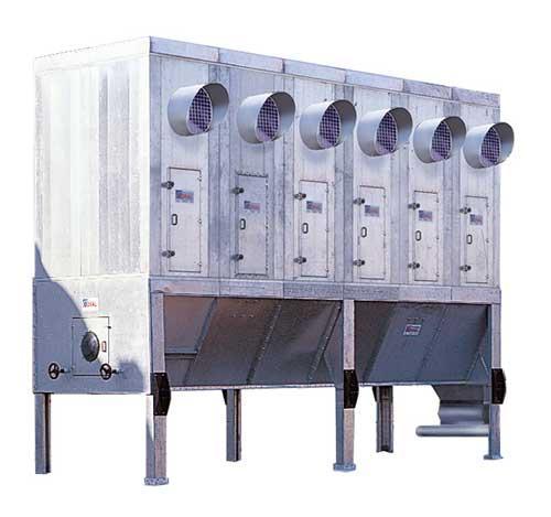 Filtre à manches modulaires - MEC Bois