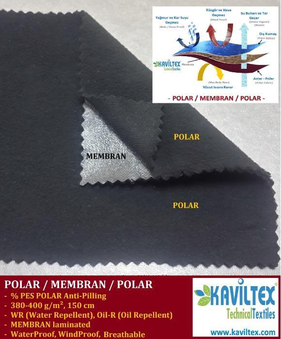 KVL-POLAR / MEMBRAN / POLAR - SPORT ACTIVE FARIC
