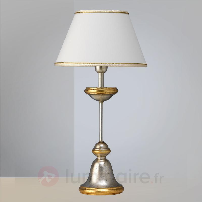 Lampe à poser élégante Jessie - Lampes à poser en tissu