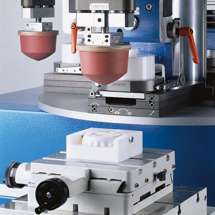 CONCENTRA Pad Printing Machine Series - Pad printing machine series for multi-color printing images