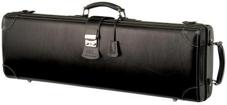 Leather violin case_Q2(V) - Leather violin case/ Black