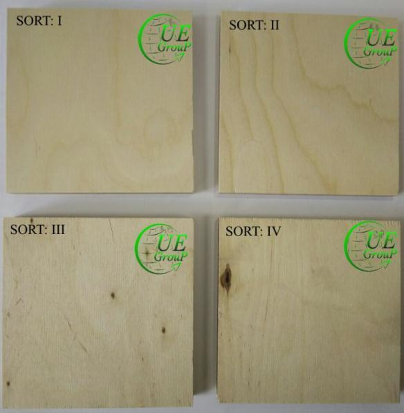 Фанера марки ФСФ - Plywood (HWPW), unfaced (birch) Format 2440x1220, 2500x1250 FSF