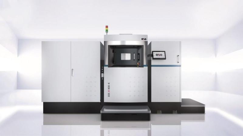 EOS M 400-4 - Quad-Laser Additive Manufacturing System for the production of metal parts