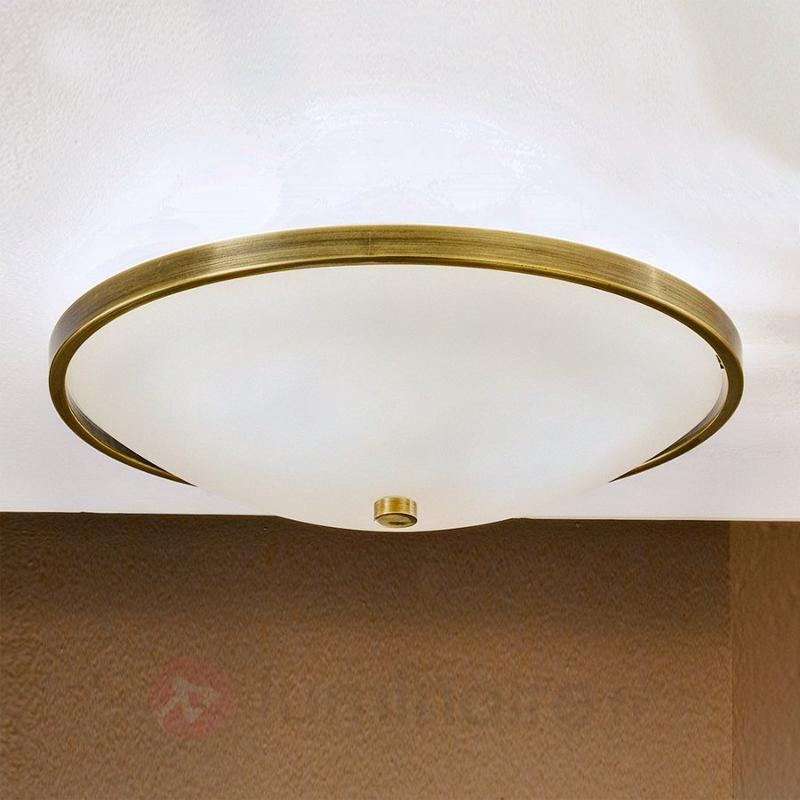 Délicat plafonnier TALYA, 39,5 cm - Plafonniers laiton/dorés