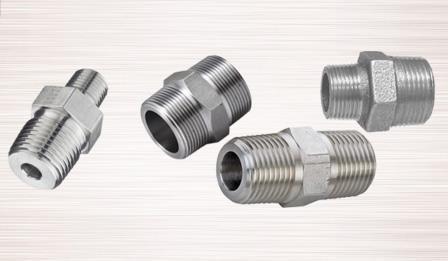 Hexagon Nipple - Stainless Steel Hexagon Nipple Carbon Steel Hexagon Nipple Manufacturer