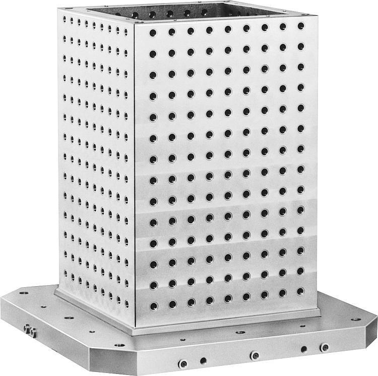 Cube préusiné - Pièces de base