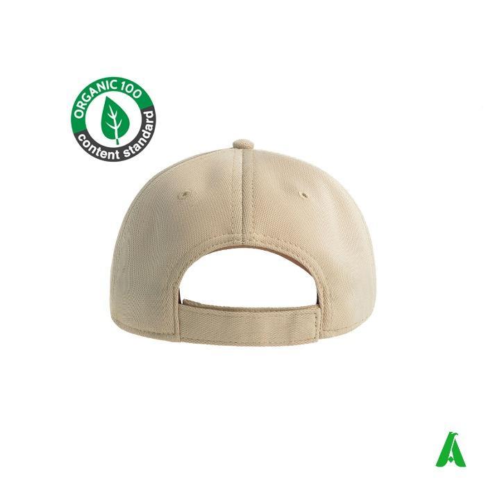 CAPPELLO ECOLOGICO ART. GREEN HOUSE - Cappello in bamboo characol ecosostenibile
