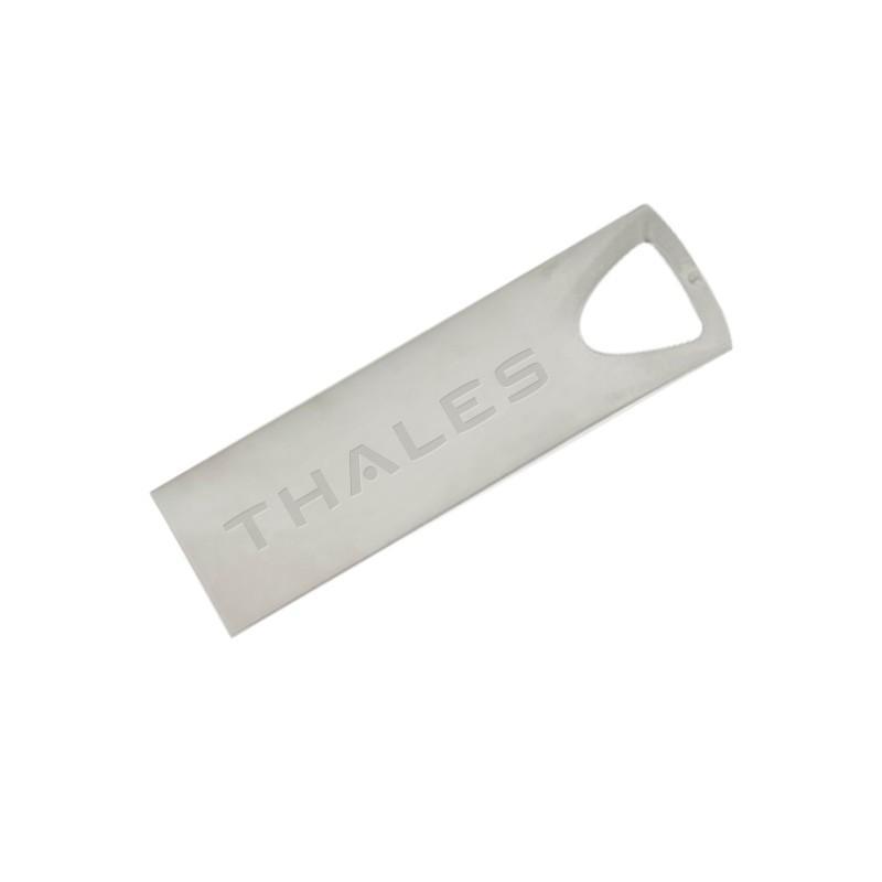 Cle USB Zip Metal Triangle - Clé USB Métal