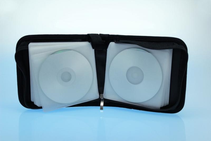Zipperwallet / CD Tasche für 40 Discs - Zipperwallets