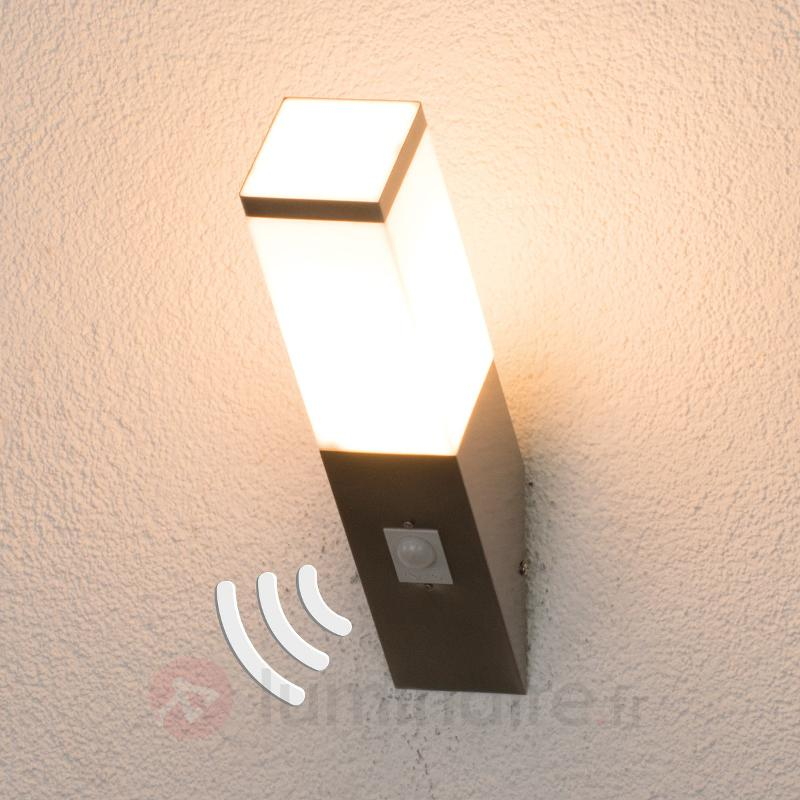 Lorian - applique extérieure avec détecteur - Appliques d'extérieur avec détecteur