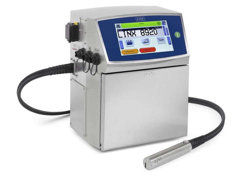 Linx 8920 - kleinkarakter inkjet printer (CIJ)