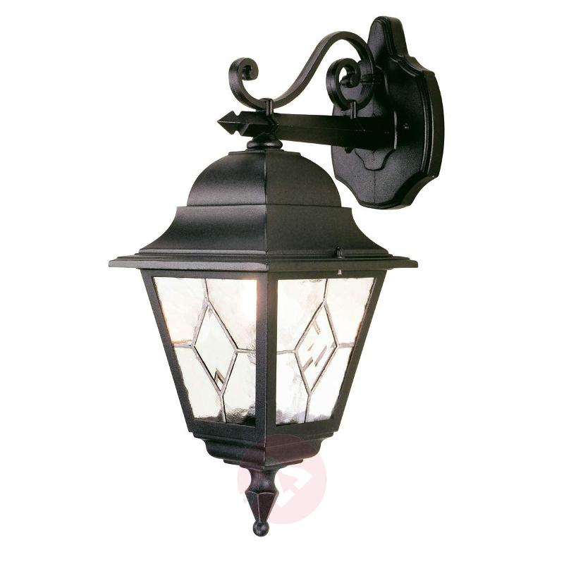 Hanging Outdoor Wall Lamp Norfolk Lead Glazed Outdoor Wall Lights