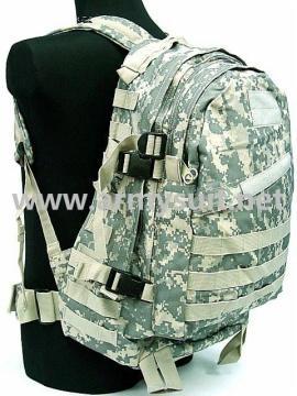 3 Day Molle Assault Backpack Bag Digital ACU Camo - PNS-BP05