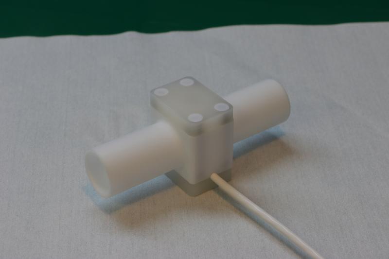 Ultraschneller, chemisch inerter Hoch-Temperatur Sensor