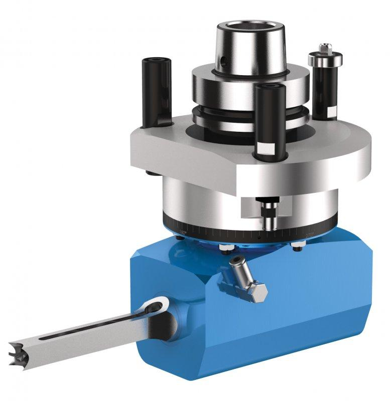 Chisel mortising unit RENITO H (horizontal) - CNC unit for machining of wood, composites and aluminium
