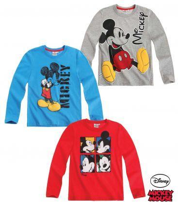 Long Sleeve T-Shirt - Disney Mickey Long Sleeve T-Shirt
