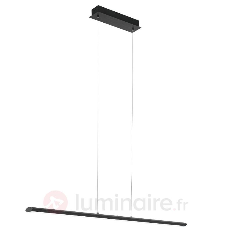 Suspension LED noire Pellaro, dimmable - Suspensions LED