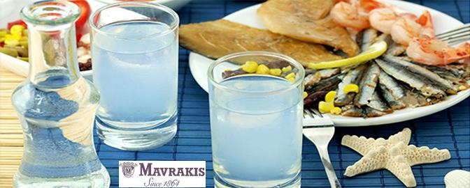 Tsipouro - a traditional Greek spirit produced by the distillation of grapes