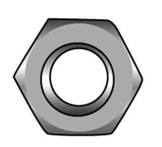 Sechskantmuttern - Material A2 | A4 | 1.4571 | 1.4462 | 1.4529