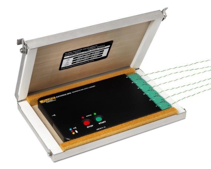 DATAPAQ Reflow Tracker Hitzeschutzbehälter - Sortiment an Schutzbehältern für DATAPAQ-Reflow-Tracker-Temperaturprofilsysteme