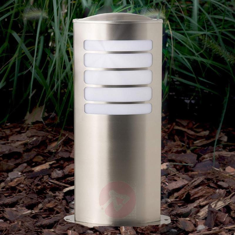 Todd oval pillar light made of stainless steel - Pillar Lights