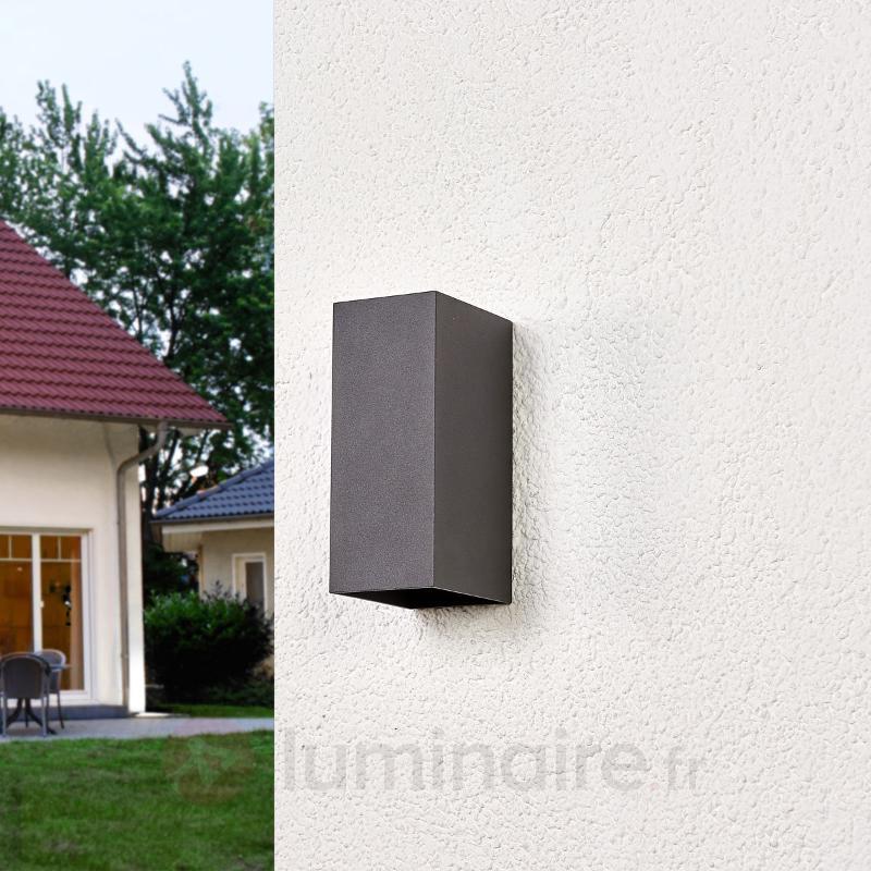 Mikka - Applique murale extérieure LED à 2 flammes - Appliques d'extérieur LED